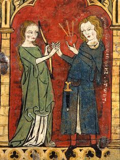 #Art #13th #Century Miniature - Annunciation from 13th century Armenian Gospel