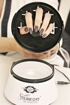 Remove Gel-Polish with The Painted Nail's Steam Off - Nails Magazine
