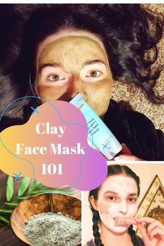 Which clay is best for skin? Clay Face Mask 101 Oily Skin Care, Acne Prone Skin, Best Clay Mask, Bentonite Clay Face Mask, Living Under A Rock, Clay Faces, Skin Mask, Skincare Routine, Good Skin