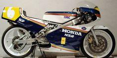 Caferacer | Museo de Motocicletas |Honda Modelo: RS 125 cc F2 Pais: Japon Precio: Pesos Chilenos 3.500.000 / US 7.609 Año: 1990
