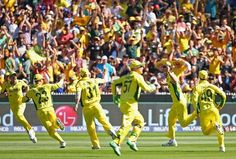 2c9c96dcee18 Australia wins 2015 ICC world cup by beating New Zealand in the final match  at Melbourne Cricket Ground. Australia beat Blackcaps by 7 wickets to win