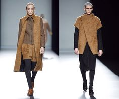 Mercedes-Benz Fashion Week Madrid: Etxeberria otoño-invierno 2013-2014, por fin protagonismo masculino