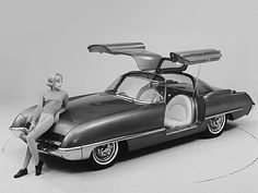 1962 Ford Cougar Concept Car OMG why did they not make this car?