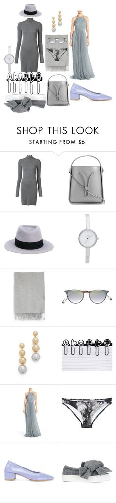 """Funcky fashions"" by racheal-taylor ❤ liked on Polyvore featuring Gareth Pugh, 3.1 Phillip Lim, Maison Michel, DKNY, Acne Studios, Garrett Leight, Elizabeth and James, Peace Love World, Monique Lhuillier and Malia Mills"
