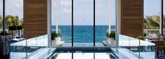 Waldorf Astoria Hotels & Resorts - Indoor Pool With View of the Ocean