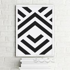 Simple Shape Canvas Art Print, Wall Pictures for Home Decoration, Painting Poster Frame not include FA213