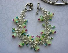 Whimsical bracelet entry by Terri Zumbrook. Enter our Summer 2012 Beading Contest today: http://www.abeadstore.com/beading_information_index/2012-Summer-Beading-Contest