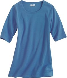 longtail t-shirt in a great blue