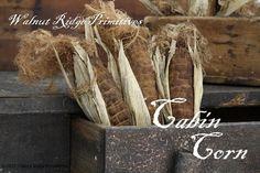 Primitive EPattern Cabin Corn Primitive Fall by wrprimitives, $10.00