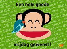 P.S. De geinige kaarten van Paul Frank zijn nog steeds bij ons te koop: www.kinderpostzegels.nl/bestellen