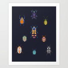 Beautiful bugs Art Print