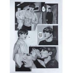 All my favorite BTS Fanarts Some fluff☺️ and some smut😏 Please enjoy🥰 Not my fanart belongs to original owners Vkook Fanart, Namjin, Bts Kiss, Vkook Memes, Fan Art, I Love Bts, Fandom, Yoonmin, Bts Photo