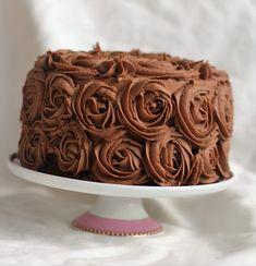 Bakeprosjektets beste sjokoladeglasur - Bakeprosjektet Photo Print, Snacks, Frosting, Nom Nom, Food And Drink, Sweets, Sugar, Cookies, Baking