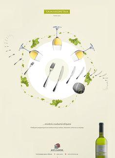kiryianni01 Kir Yianni Wines (print ad campaign)