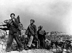 SPAIN. Near Fraga, Aragon front. Battle of the Ebro. November 1938//Robert Capa