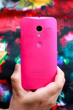 Moto X goes Pink