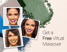 Upload your picture and do a virtual makeover for FREE. Play with makeup shades, try a new hairstyle, and even sport accessories. It's fun and easy.