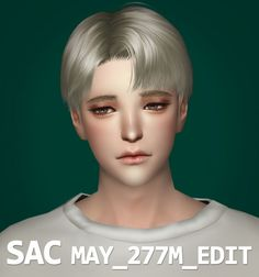 SAC - MAY 277M hair edit for The Sims 4