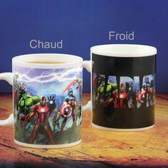 🌟 Nouveauté : Mug Marvel Thermoréactif 10.90€🌟  ➡ http://ow.ly/m7Bi304BdkU ✔ en stock / expédié en 24h / Dispo en 1h sur Paris