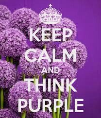 KEEP CALM AND THINK PURPLE. Another original poster design created with the Keep Calm-o-matic. Buy this design or create your own original Keep Calm design now. Purple Love, Purple Lilac, All Things Purple, Shades Of Purple, Periwinkle, Purple Stuff, Deep Purple, Purple Flowers, Teal