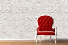 Punctured Squares removable, reusable & repositionable Wallpaper! From $79.99!
