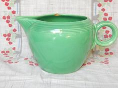 Fiesta Ware 2 pint Jug Pitcher Pre 1959 - pinned by pin4etsy.com