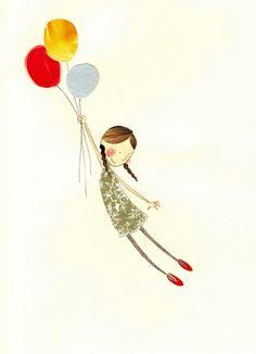 Adorable children's illustration - Sophie Allen