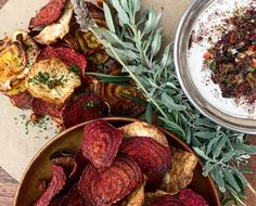 Netflix and beet chips? We're taking your next night in to another level with these colorful and super easy to make healthy snack ideas...