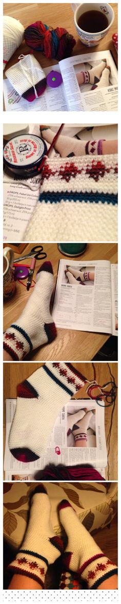 Uit simply crochet december.