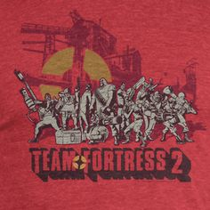 This is the Team Fortress Red Team Logo Premium Tee Shirt. It's super soft and celebrates the legendary Red Team of the video game Team Fortress. The fans - well, they know how awesome the game is, so