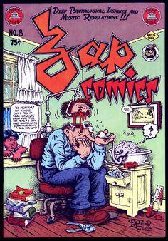 Zap Comix No. 8. 1978. (cover: Robert Crumb)