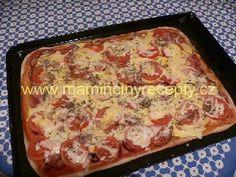 Pizza z lístkového těsta Pizza, Quiche, French Toast, Breakfast, Ethnic Recipes, Food, Style, Hampers, Lasagna