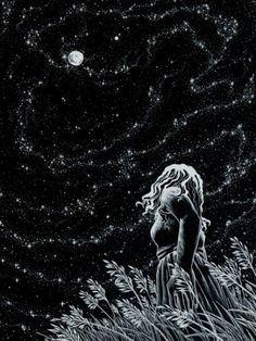 A madrugada é dos solitários Que falam sozinhos Como a noite é das estrelas Que brilham em seus cantinhos  Se desenhamos lá em cima Tantas constelações Cá embaixo não poderíamos Ligar nossos corações?  Se as constelações são imaginárias Por que haveriam nossas solidões Ser de repente temporárias?  Esse silêncio noturno Deveria ser oportuno Para contigo poder conversar  Se as estrelas pudessem falar...  - António Corvo  #antóniocorvoescritor