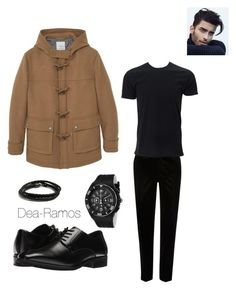 """Men style"" by dea-ramos on Polyvore featuring River Island, Stacy Adams, MANGO MAN, MIANSAI and TechnoMarine"