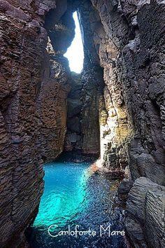"""Is.di s.pietro """" grotta dei colombi"""" Carloforte Sardegna italy"""