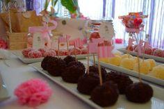 Una mesa dulce para una comunión, ¡un resultado genial!