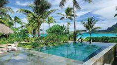 Побег в рай на остров Бора-Бора вместе с Four Seasons