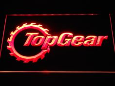 Top Gear 2 LED Neon Sign