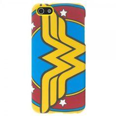 DC Comics Wonder Woman Shield iPhone 5 5s Hardshell 2 Piece Case