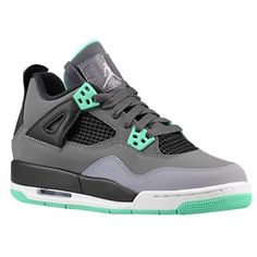 on sale c9a00 4e979 Jordan Retro 4 - Boys  Grade School - Dark Grey Cement Grey Black