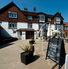 Brambletye Hotel in Forest Row http://www.brambletyehotel.co.uk
