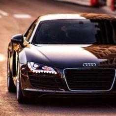 Majestic Black Audi R8