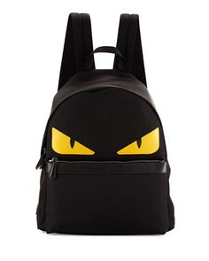 Monster Backpack, Black by Fendi at Neiman Marcus.