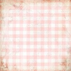 12 x 12 Paper - Lullaby Check Nursery Pink