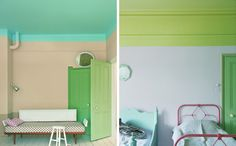 curious and compelling half painted wall ideas.. Absolutely, yes, must!