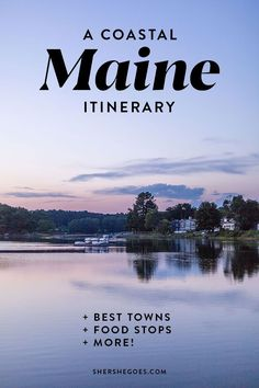 a coastal maine itinerary for the perfect road trip! All about our coastal drive from NYC to Maine - cute towns, great seafood and sailing! Maine Road Trip, East Coast Road Trip, Road Trip Usa, Maine In The Fall, Voyage Canada, Visit Maine, Visit Usa, Maine Lighthouses, Perfect Road Trip