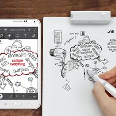 Equil Smartpen 2. This Luidia Equil Smartpen 2 features a Bluetooth interface that lets you connect with most Bluetooth-enabled devices, so you can easily capture handwritten notes and sketches and transfer them to your devices or the Cloud.