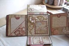 video tutorial mini album in a box