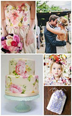 Exuberant Spring Wedding Inspiration - Emily Paben Weddings + Events
