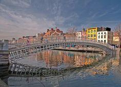 Half penny bridge IRELAND